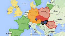 Frontières et migrants: la situation en Europe résumée en une