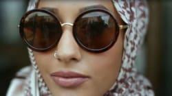 Une Marocaine voilée dans la nouvelle campagne