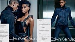 Le nouveau visage de Calvin Klein est