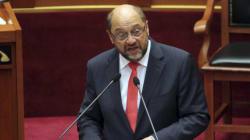 Martin Schulz, président du Parlement européen en Tunisie en novembre