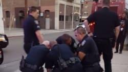 Un ado noir frappé par la police après avoir traversé hors du passage piéton aux