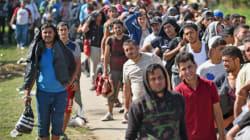Völkerwanderung (?) ins Fluchtziel