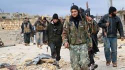 75 rebelles entraînés par les Etats-Unis entrés en Syrie depuis la