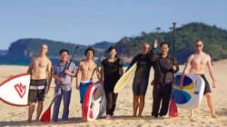 북한에도 서핑 스팟이