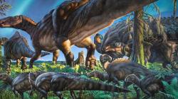새 공룡이 발견됐다. 굶주린