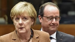 Syrie: Merkel veut impliquer Bachar al-Assad dans la solution, Hollande