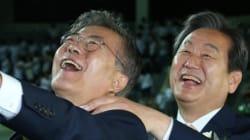 김무성, 문재인 부산 영도에서 한판