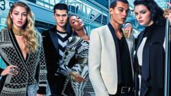 Επιτέλους, οι πρώτες φωτογραφίες από τη συνεργασία της H&M με τον Balmain είναι
