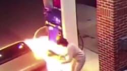 Έκαψε το βενζινάδικο στην προσπάθειά του να σκοτώσει μια