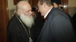 Δεν θα υπάρξουν μονομερείς ενέργειες δήλωσε ο Nίκος Φίλης μετά τη συνάντηση με τον Αρχιεπίσκοπο