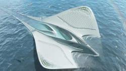 프랑스 건축가가 구상한 미래의