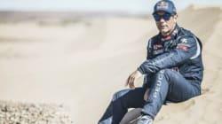 Sébastien Loeb dans le désert