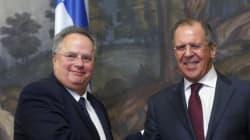 Τα είπαν Κοτζιάς – Λαβρόφ: Ουκρανία, Συριακό και ελληνορωσική συνεργασία τα θέματα που