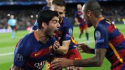 Ligue des champions: sans Messi, le Barça de Suarez renverse