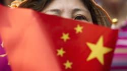 Αντιδράσεις στην Κίνα από την ανέγερση προπαγανδιστικού
