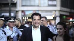 Τρέχοντας και στο και πέντε κατέθεσε την υποψηφιότητά του ο Άδωνις Γεωργιάδης για την προεδρία της ΝΔ,