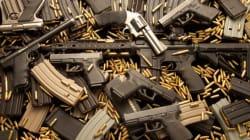 오리건주 총기난사범, 총기 13정 합법적으로