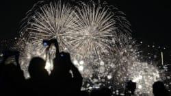 세계불꽃축제를 보기 좋은 명당
