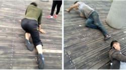 Η βάναυση τιμωρία των Κινέζων εργαζομένων που δεν κάνουν