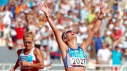 Η χρυσή Ολυμπιονίκης, Αθανασία Τσουμελέκα, βαδίζει με στόχο το