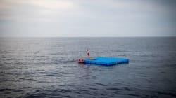 Des plateformes de repos en pleine Méditerranée pour les