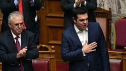 Ψήφο εμπιστοσύνης πήρε από τη Βουλή η κυβέρνηση ΣΥΡΙΖΑ -