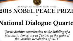 Le Quartet parrain du dialogue national tunisien obtient le prix Nobel de la Paix: Les réactions en