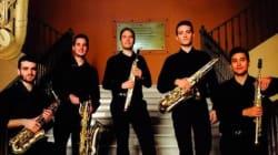 Le Quintet de saxophones du Conservatoire de Séville anime un concert à