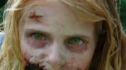 '워킹 데드'의 좀비 소녀는 어떻게