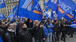 프랑스 경찰이 30년 만에 집회를 한