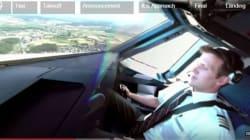 Από τη θέση του πιλότου: Εικόνα 360 μοιρών από την απογείωση ενός Airbus