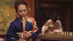 일본 전통악기로 연주한 'Smooth