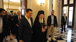 Μονόδρομος ο διάλογος για τη γεφύρωση των διαφορών συμφώνησαν Τσίπρας και Οικουμενικός Πατριάρχης