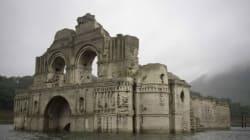 450년 된 교회가 마침내 그 모습을 드러낸 이유(사진,
