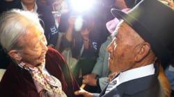 65년 만에 만난 남북 이산 부부의