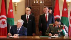 Amman et Tunis signent des accords de coopération militaire et de
