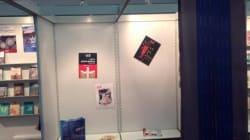 Nekkaz découvre un stand algérien vide à la foire du livre de Frankfurt