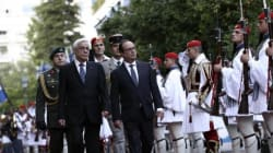 Ολάντ στην Αθήνα: Ανοίγουμε το θέμα του χρέους. Έφερα επιχειρηματίες για να