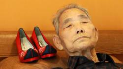꽃신 사주겠다던 약속을 65년 만에 지키게 된 아버지(사진