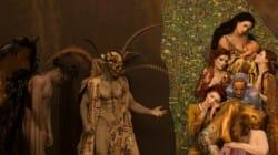 Μοντέλα καλύπτονται από χρυσό και ζωντανεύουν διάσημα έργα του Κλιμτ για καλό