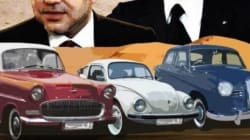 40 voitures d'époque en route pour célébrer le 40ème anniversaire de la Marche