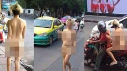 Une femme présentée comme Marocaine se balade nue dans les rue de