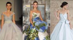 22 νυφικά με χρώμα για τη νύφη που θέλει να ξεχωρίσει (όχι, δεν είναι ανάγκη να βάλετε