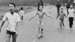 베트남전 '네이팜 소녀'가 미국에서