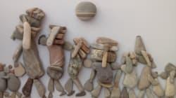 Les pierres du sculpteur Nizar Ali Badr racontent la grande tristesse