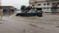 De graves inondations ont touché