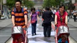 Les couples chinois pourront maintenant avoir deux