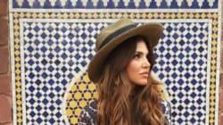 La blogueuse mode Negin Mirsalehi en escapade à
