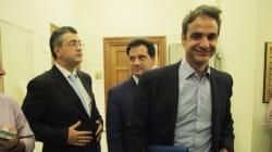 Ντιμπέιτ της Huffpost Greece: Γεωργιάδης, Μητσοτάκης και Τζιτζικώστας, οι υποψήφιοι πρόεδροι της Ν.Δ ανοίγουν τα χαρτιά