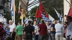 Συγκέντρωση της Χρυσής Αυγής και αντιφασιστικό συλλαλητήριο στο κέντρο της